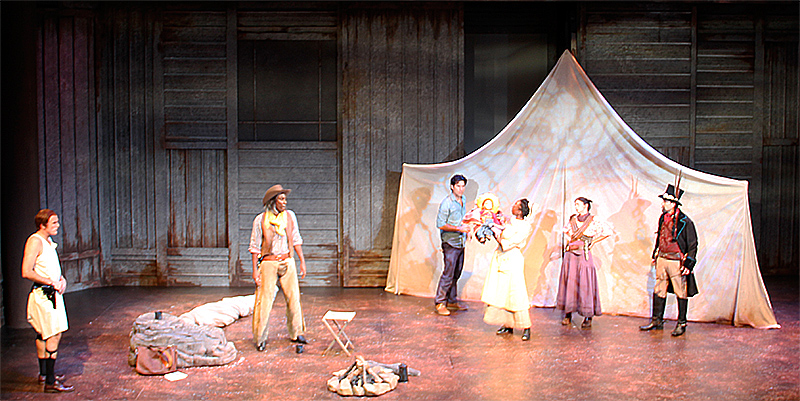 Scenic Design by Robin Sanford Roberts for American Night